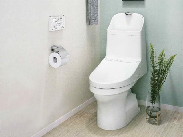 トイレ交換【TOTO製 ウォシュレット一体型便器 ZJ2 (手洗い有り)】